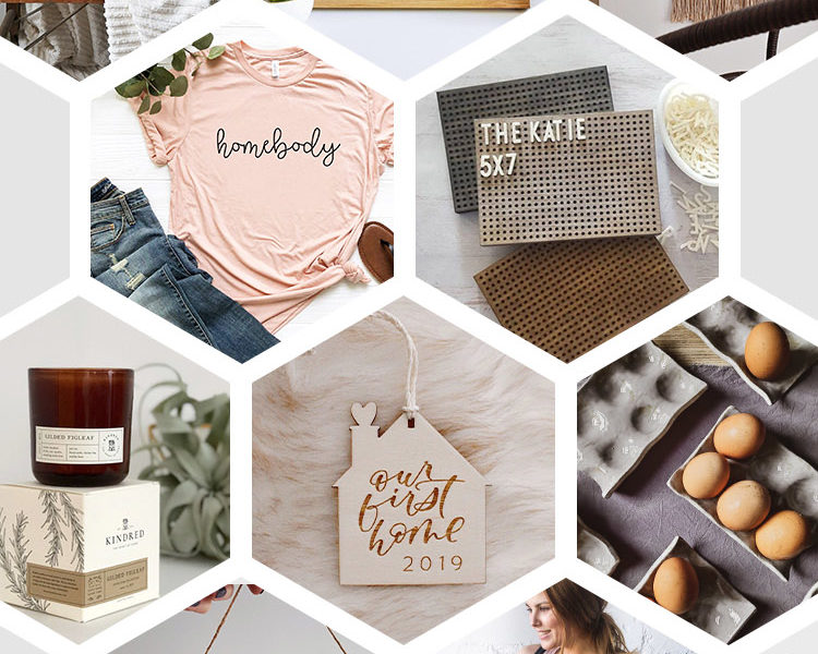Gift Guide for the Homebody! Great options and some beautiful handmade goods