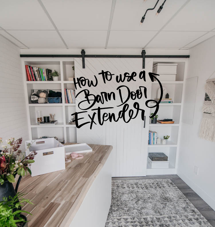how to use a barn door extender (and why you would need to)