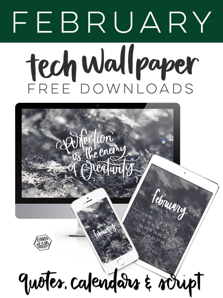 free tech wallpapers for all your devices (mock ups showing the 3 versions for Desktop, Tablet and Phone.