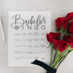 6 Free Bachelor Bingo Cards!