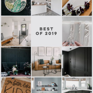 Best posts of 2019! Home decor, DIY and printables