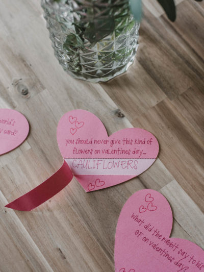 Punny Valentines Day Cards with Cricut