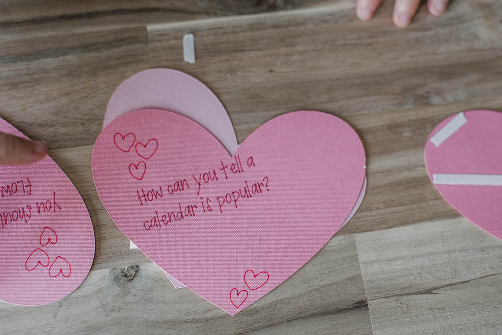 These Punny Valentines Day Cards are so cute! Love the tearaway style to hide the answer