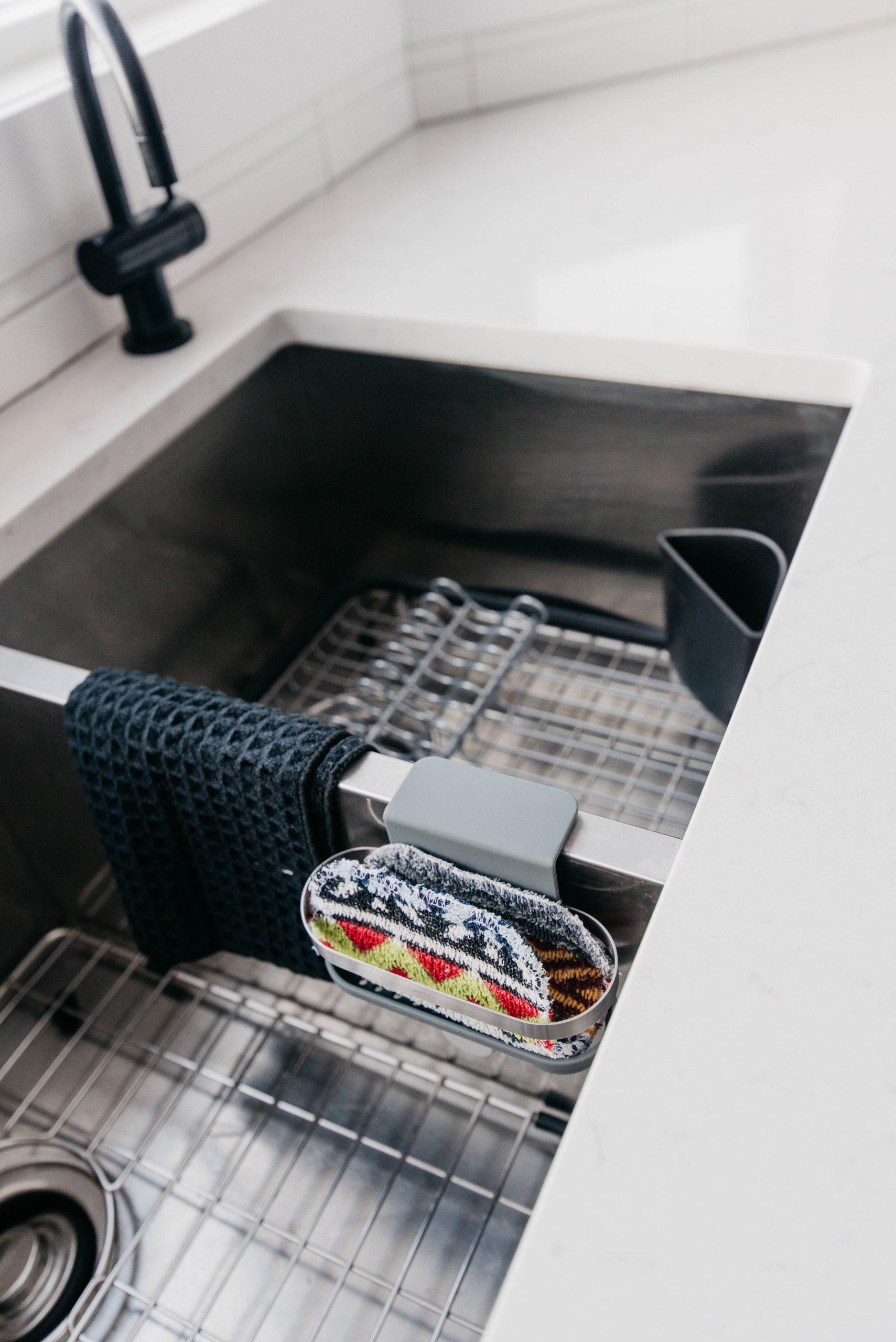 In sink organization for the kitchen