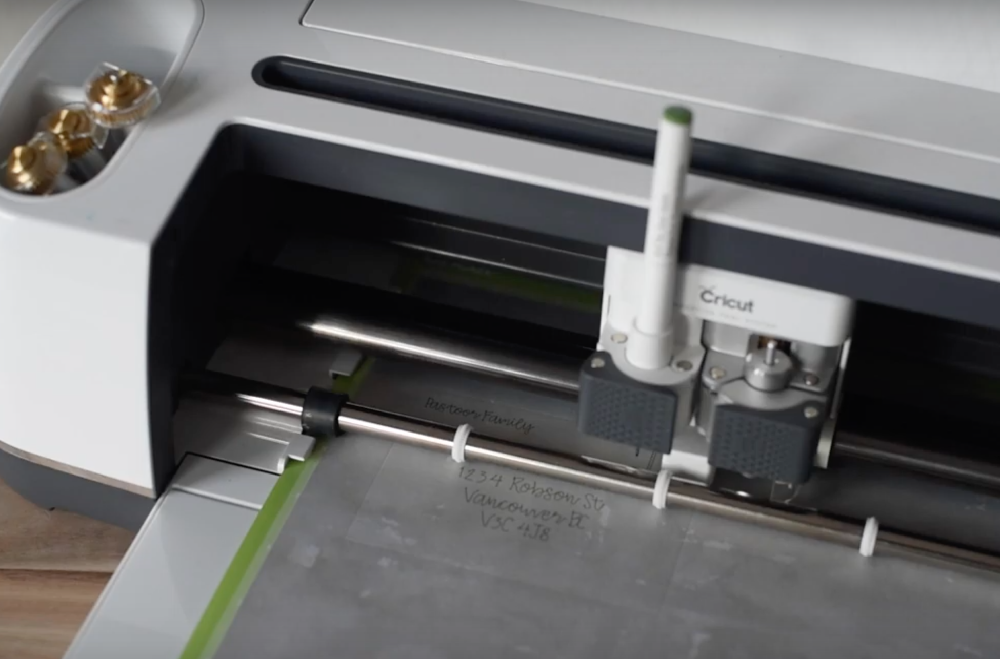 How to use cricut cut and draw tool at the same time