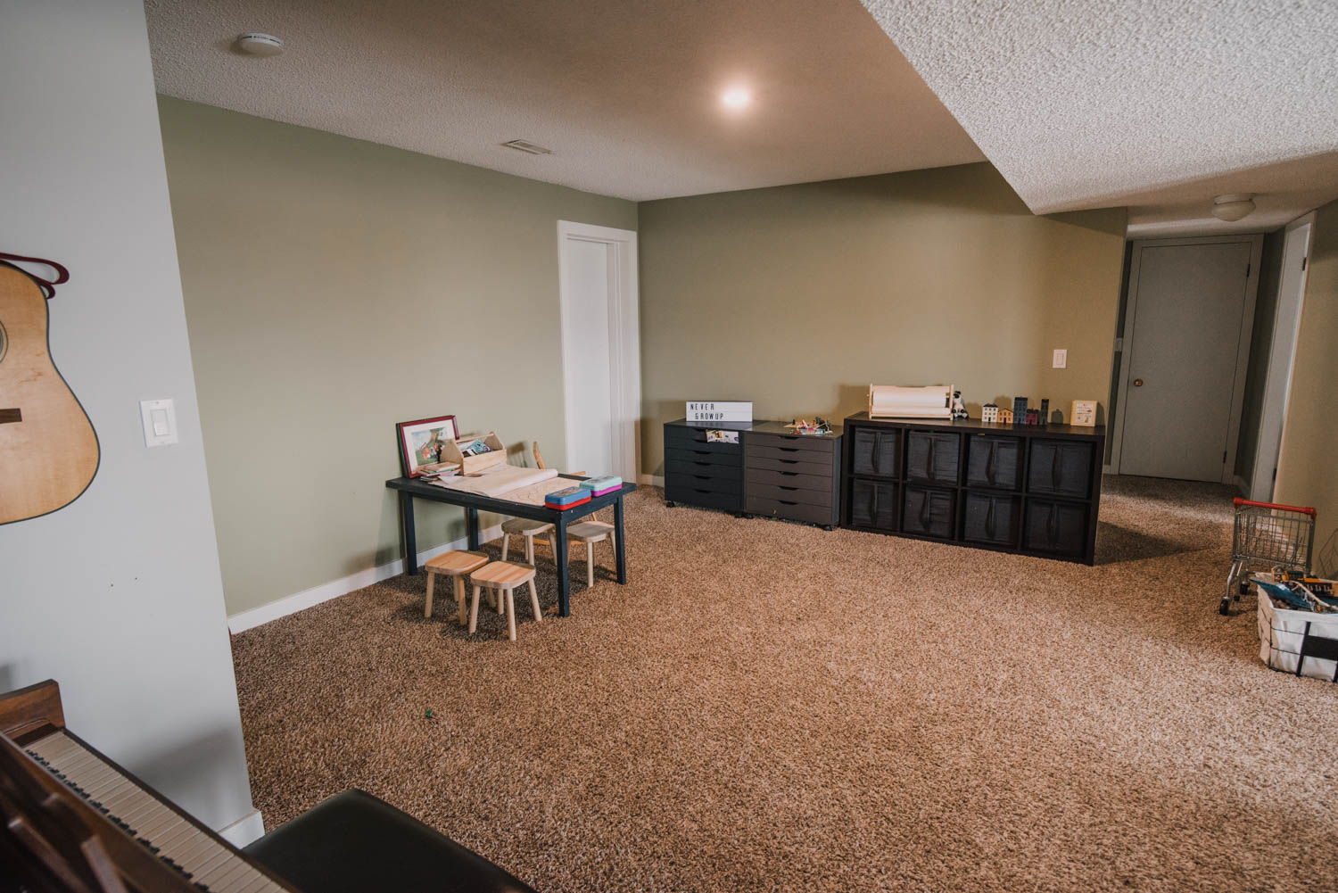 Basement Playroom Remodel Plans
