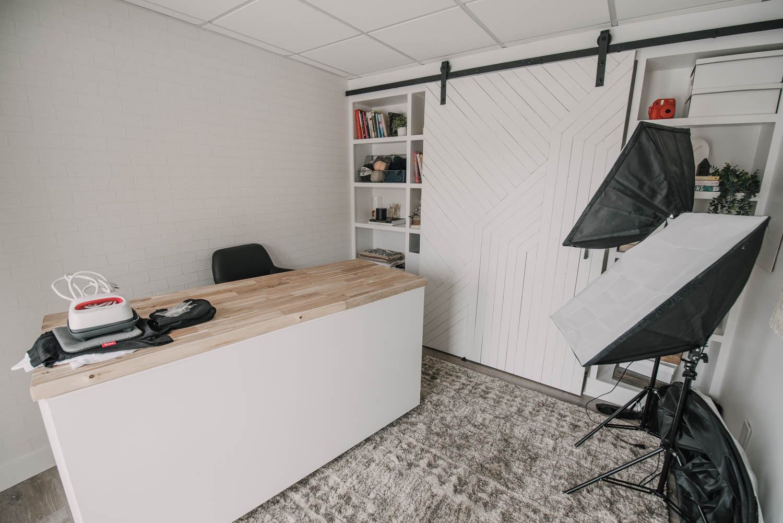 Basement Studio Office