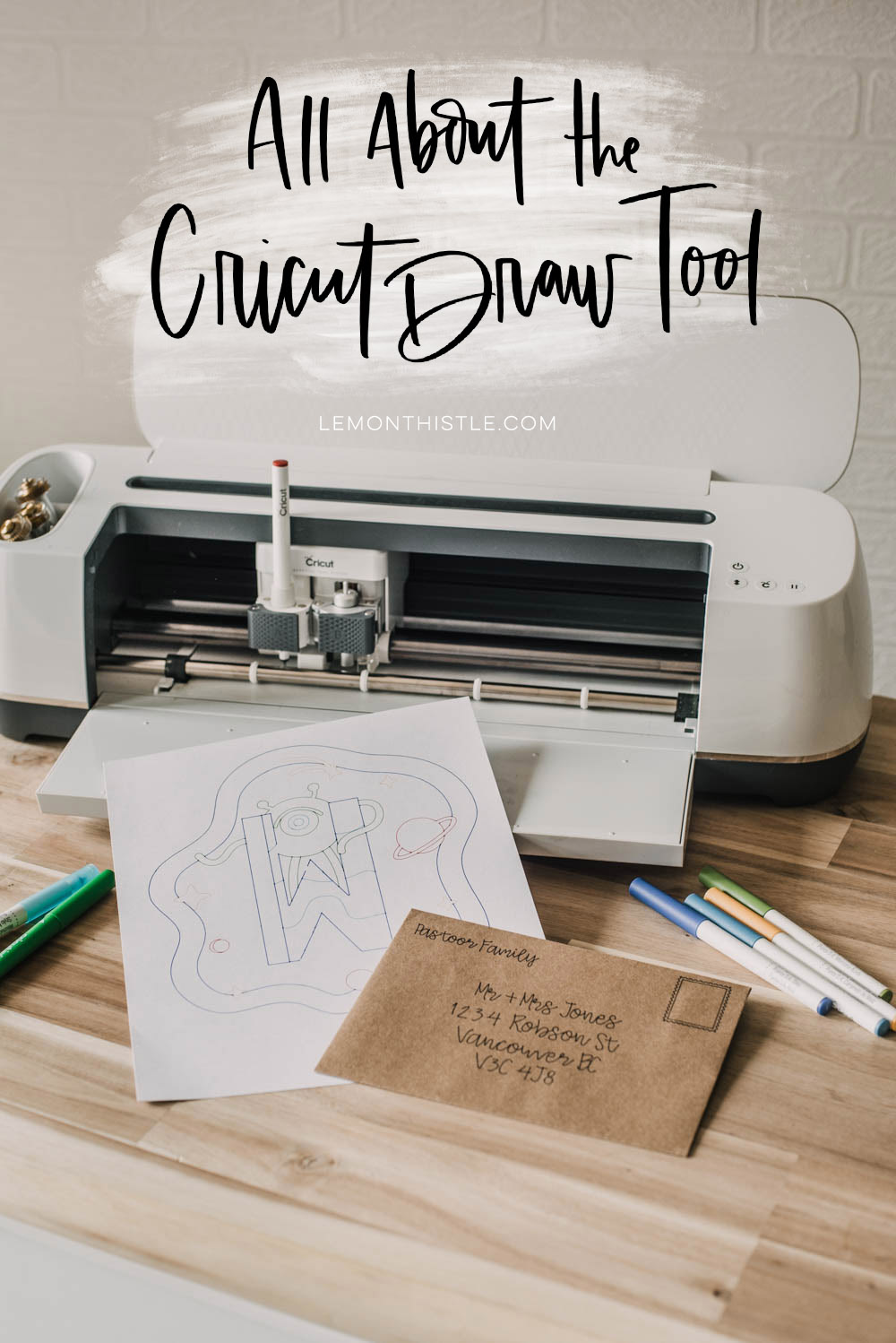 Title image How to use the Cricut Draw Tool