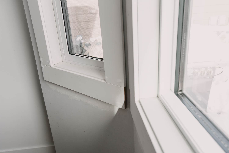 Bay Window Farmhouse Moulding Install