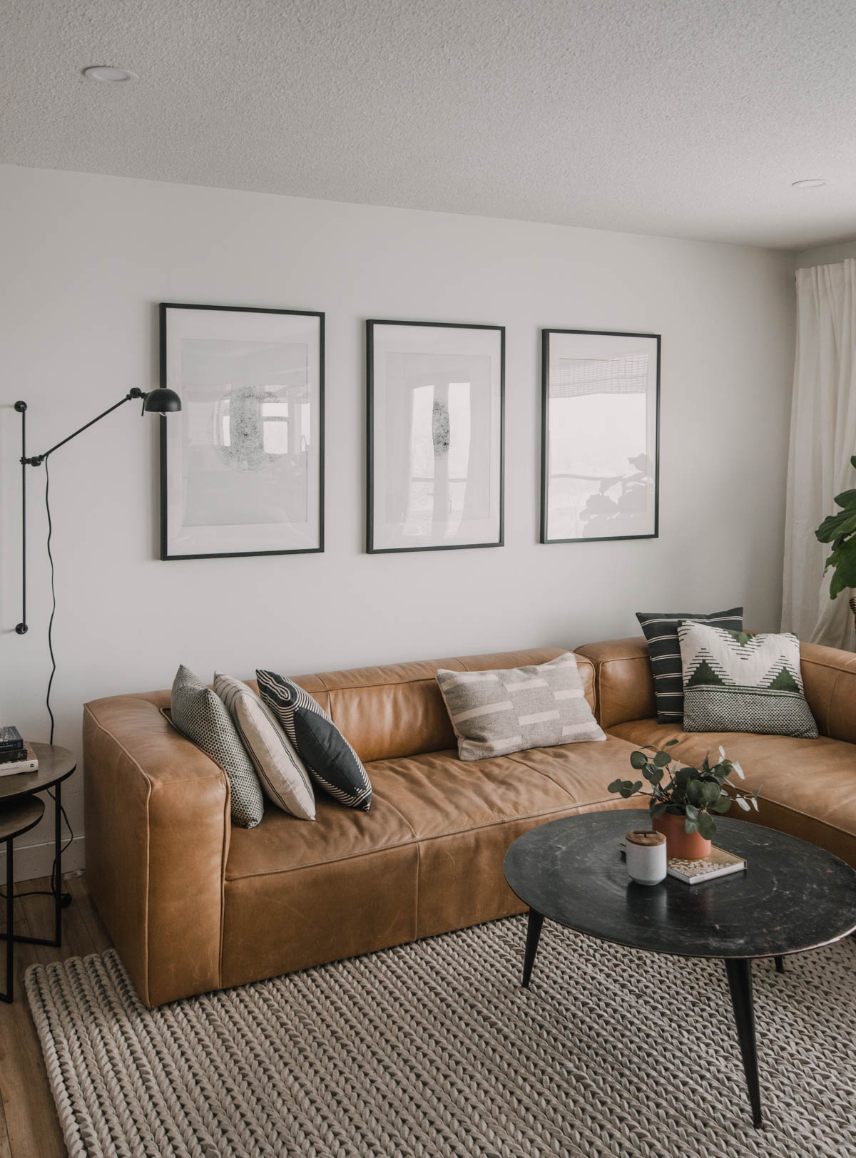 Living Room White Paint