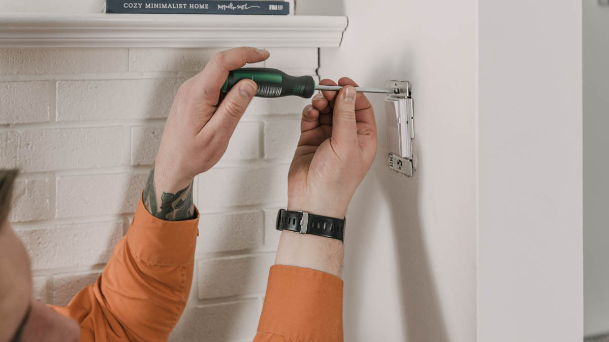 How to install a dimmer switch to soften overpowering lights