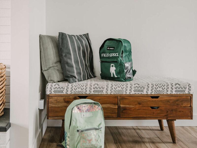 Fun mermaid backpack and teen boy space themed backpacks