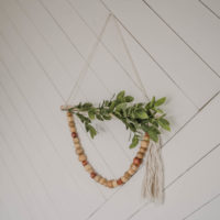 DIY Dollar Store Wreath for Spring- Boho Style