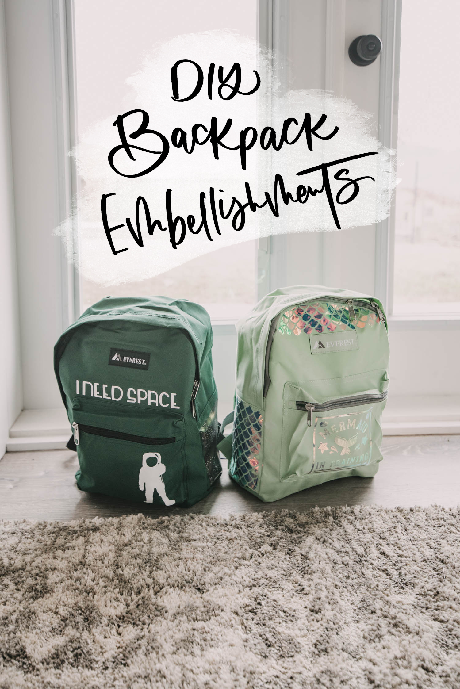 How to Iron On to Backpacks with Cricut