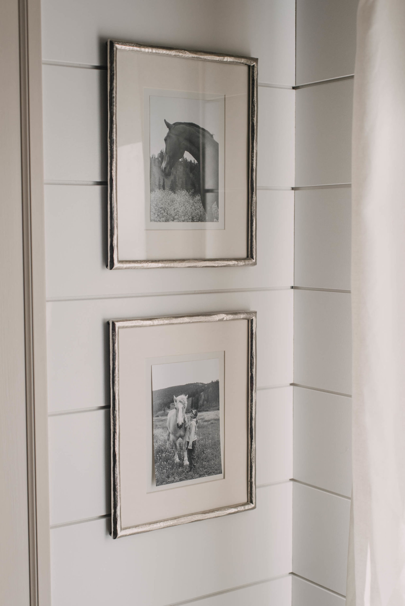 sentimental photos of horses for farmhouse decor