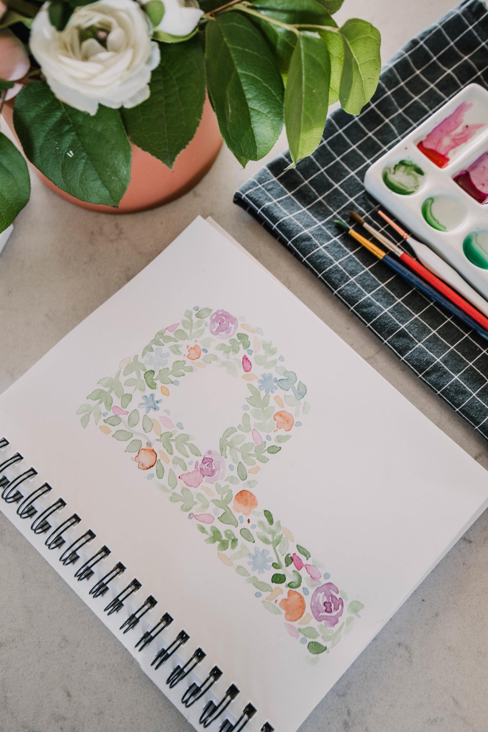 Beginner Watercolor Tutorial