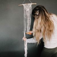 simple macrame DIY