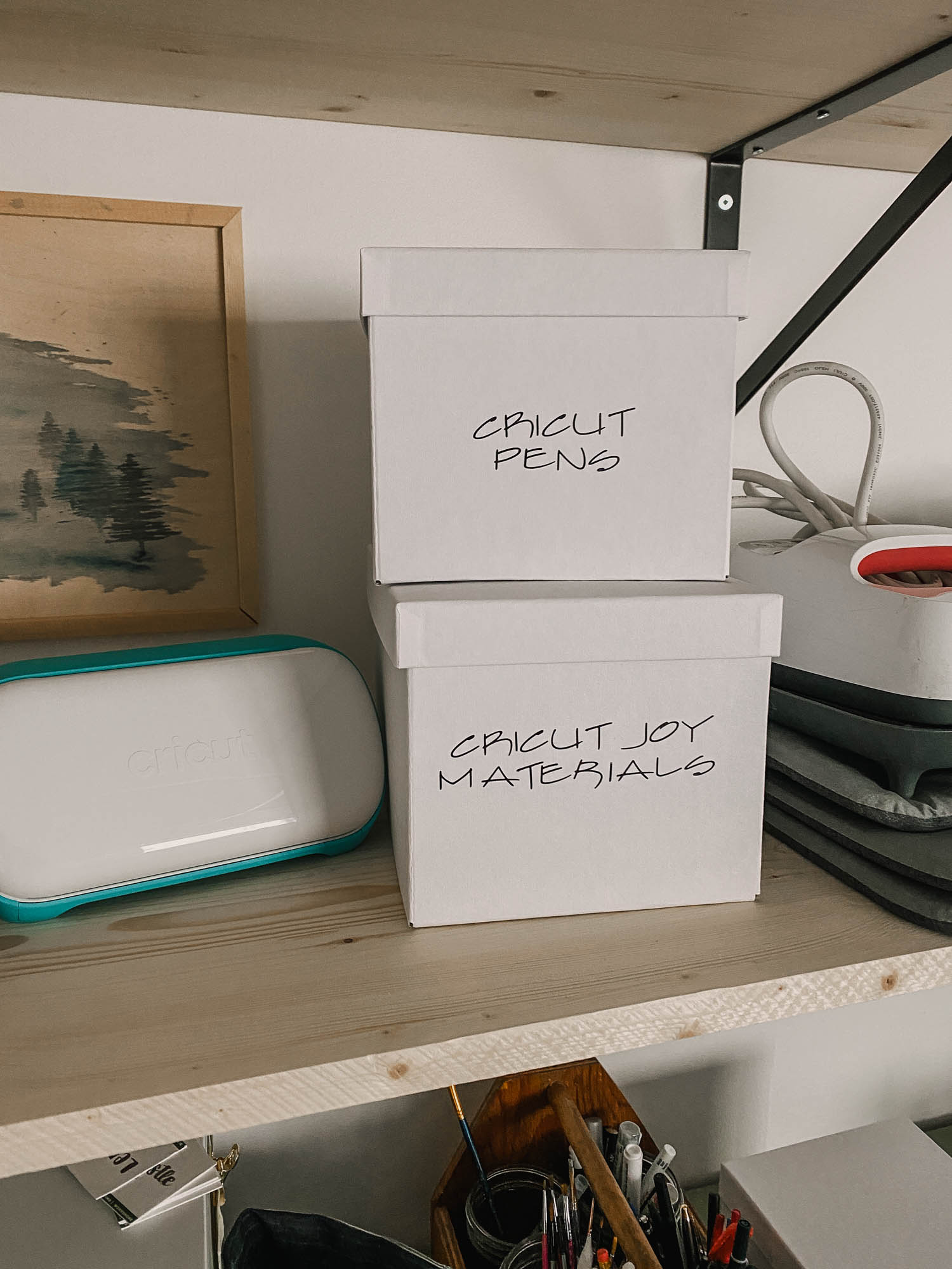 DIY labels using the Cricut Joy