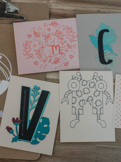 4 Different ways to make monograms using Cricut Design Space