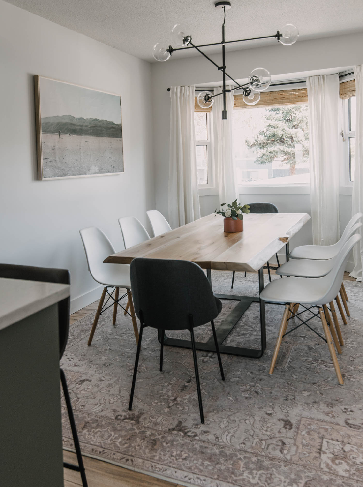 Cozy Neutrals Dining Room Reveal
