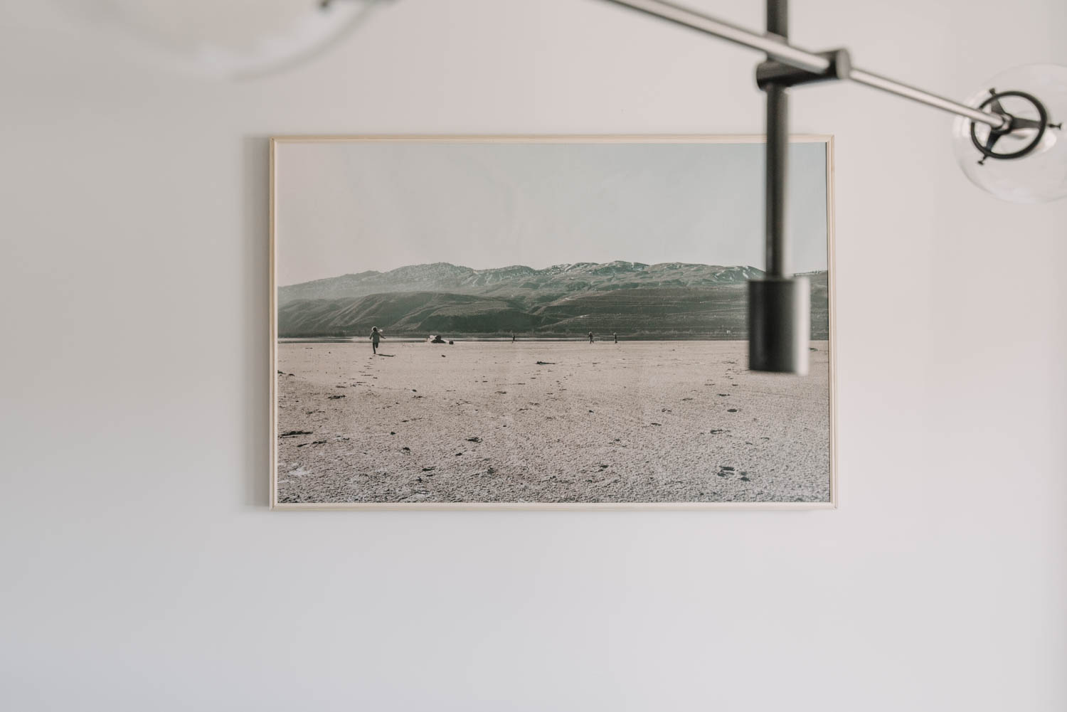 affordable large scale photo art and framing a canvas