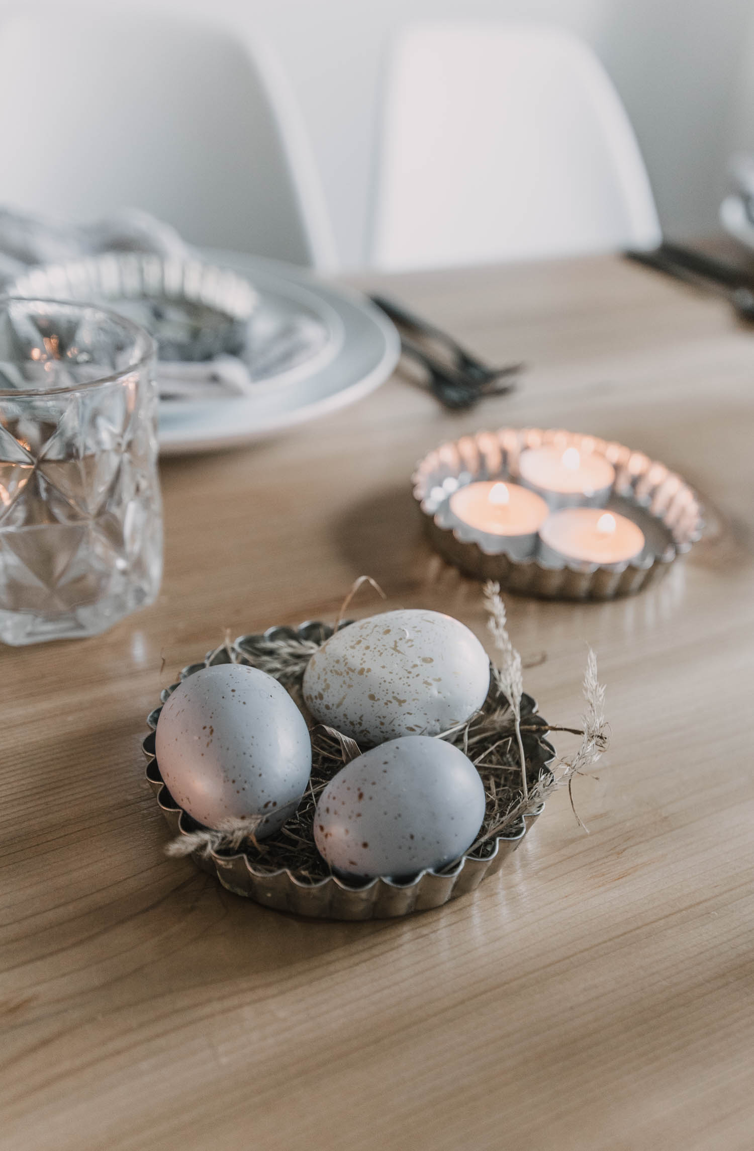 Tart Pans for Easter Decor