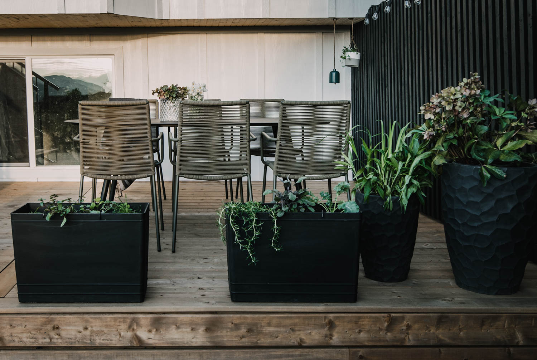 Modern Wood Deck Reveal
