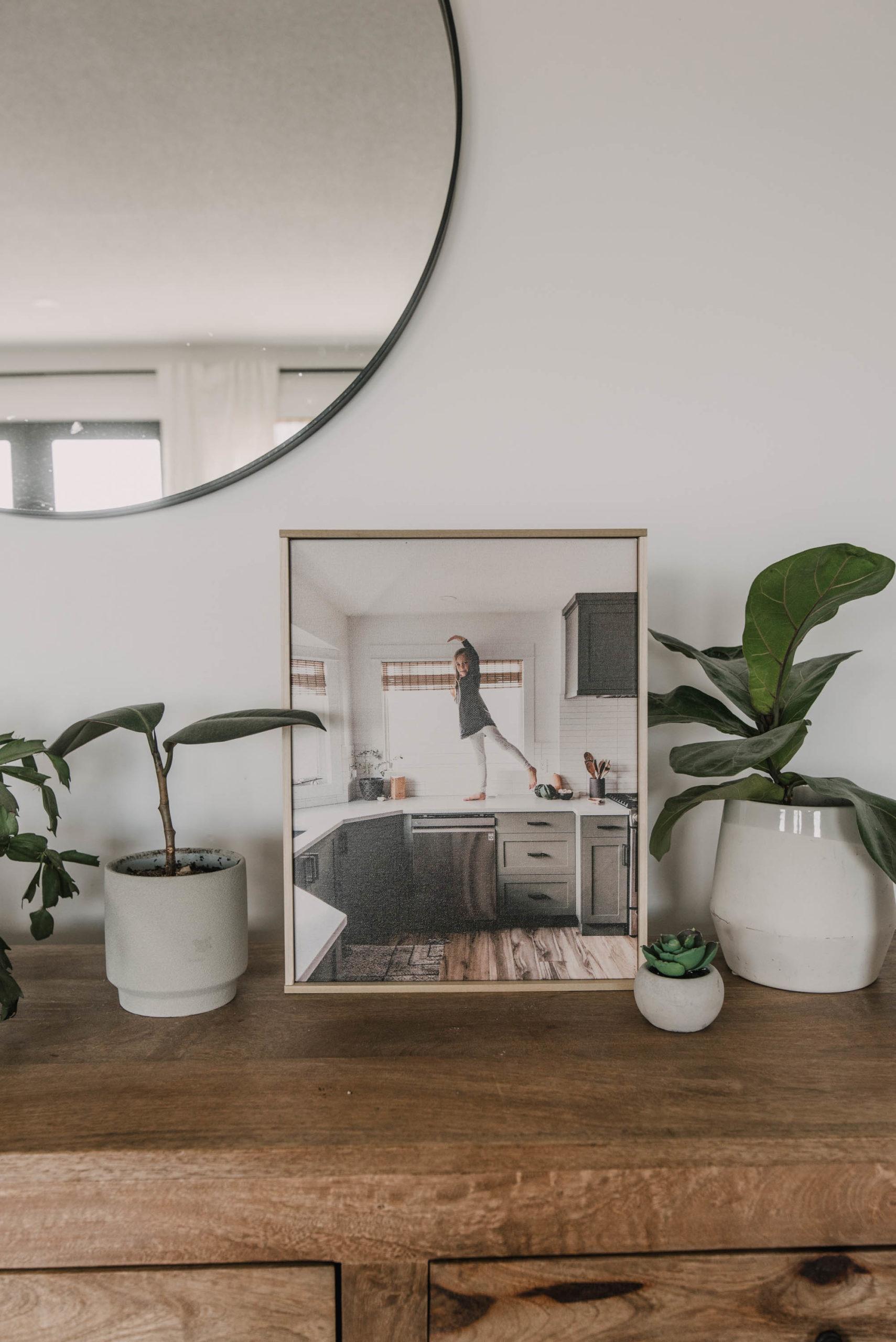 Modern Canvas Frame for under $10