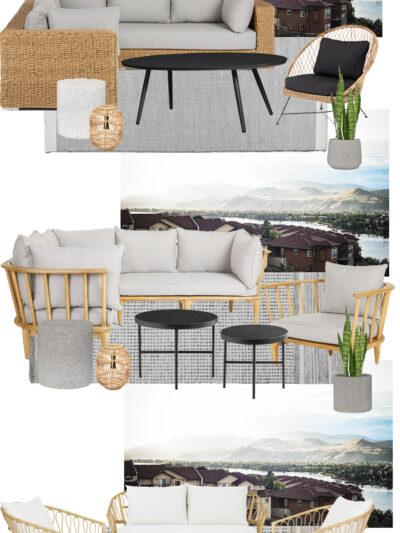 Modern Outdoor Patio Furniture