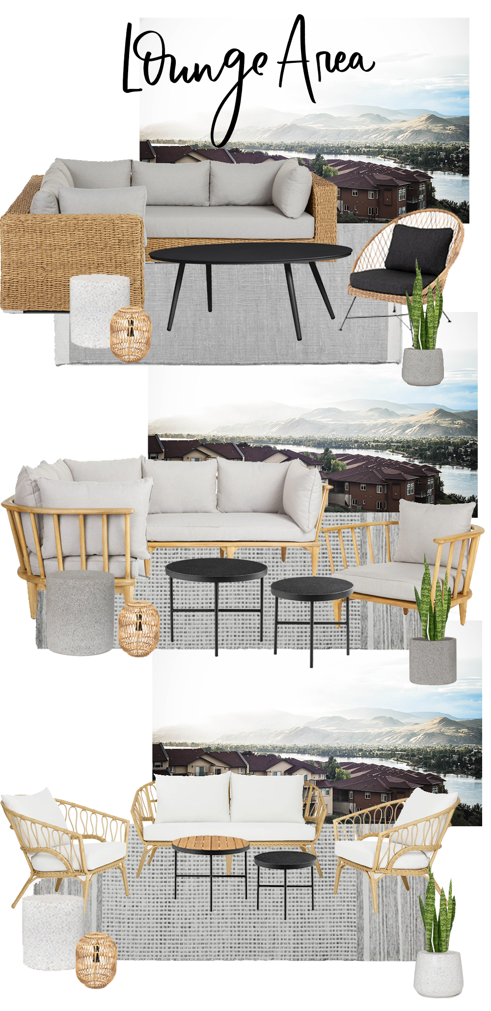 Picking Modern Outdoor Patio Furniture Lemon Thistle