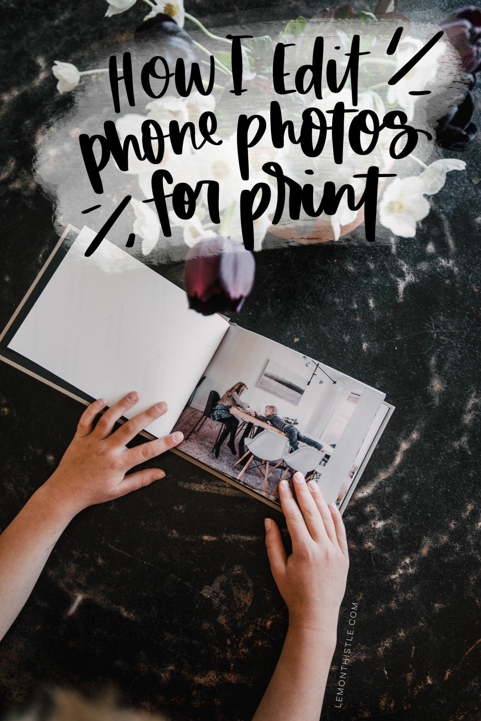 Sharing my process for editing photos from my phone (or any photo!) for print