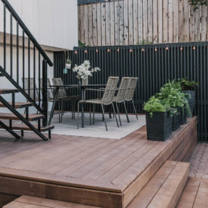 How to stain a pressure treated wood deck