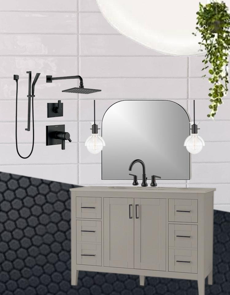 Modern Classic Bathroom Plans