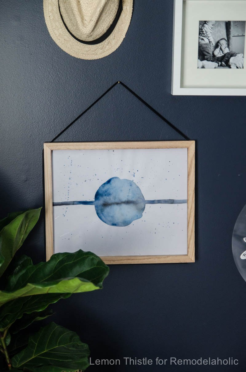 Simple Abstract Art DIY