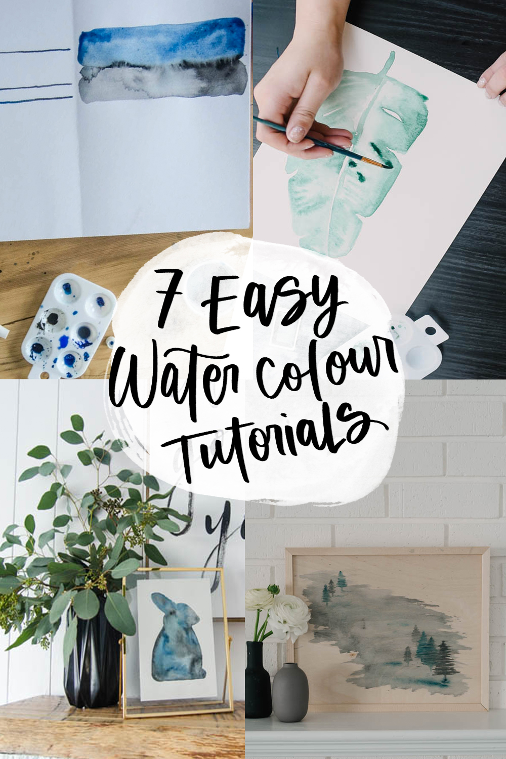 Beginner Watercolor Projects