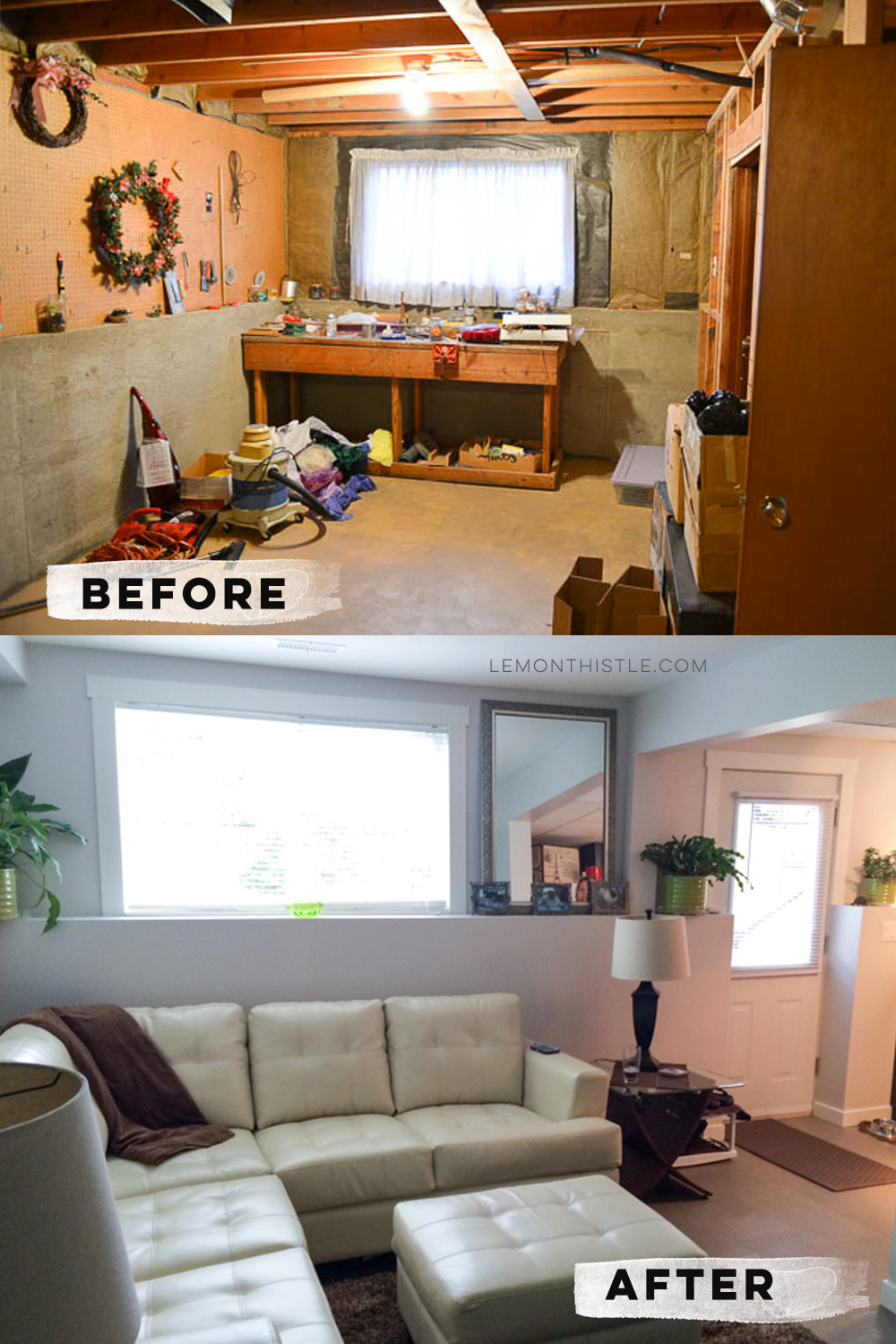 Basement suite transformation