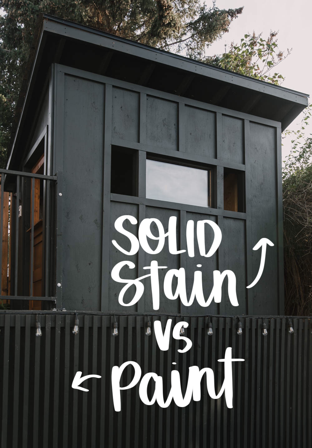 solid stain vs paint