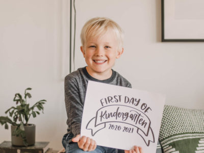 Free Printable Signs for First Day of School Photos