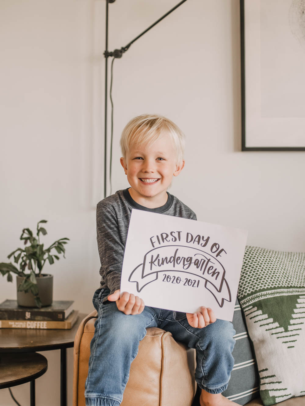 Free Printable First Day Of School Signs And Last Day Lemon Thistle