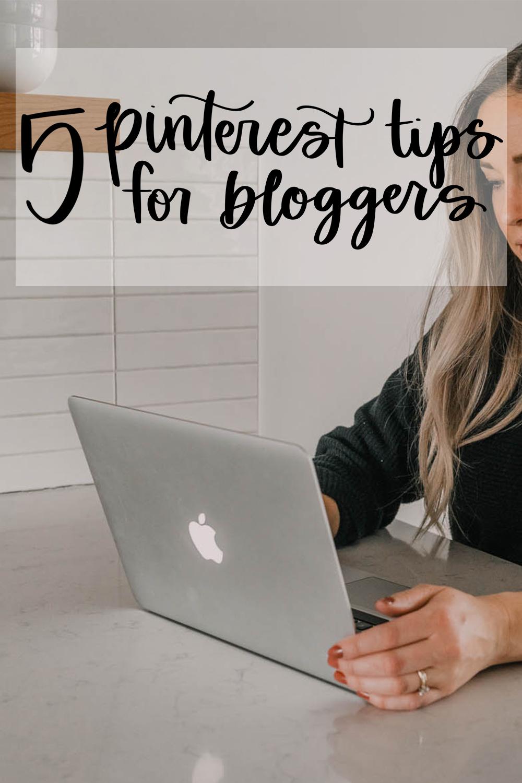 Tips for Pinterest for Bloggers!