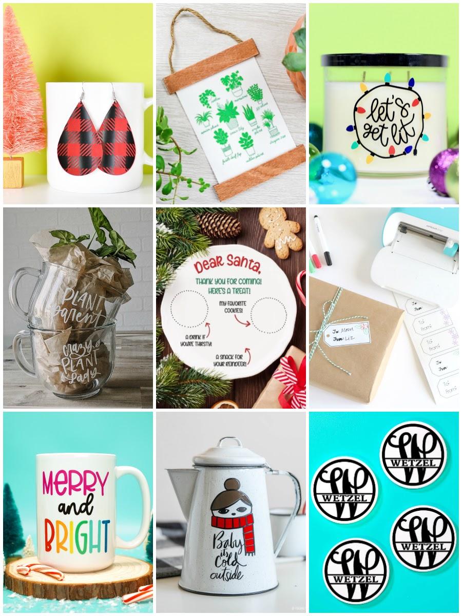 9 Rad Cricut holiday gift ideas