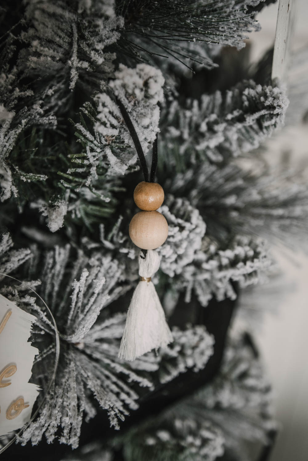 DIY Boho Christmas Ornament
