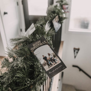 Holiday cards are exciting to receive, but once you've read them… what do you do with them? I'm sharing 5 simple ways to display them to enjoy them all season long, without buying anything new!
