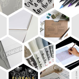 Brush Lettering Gift Guide