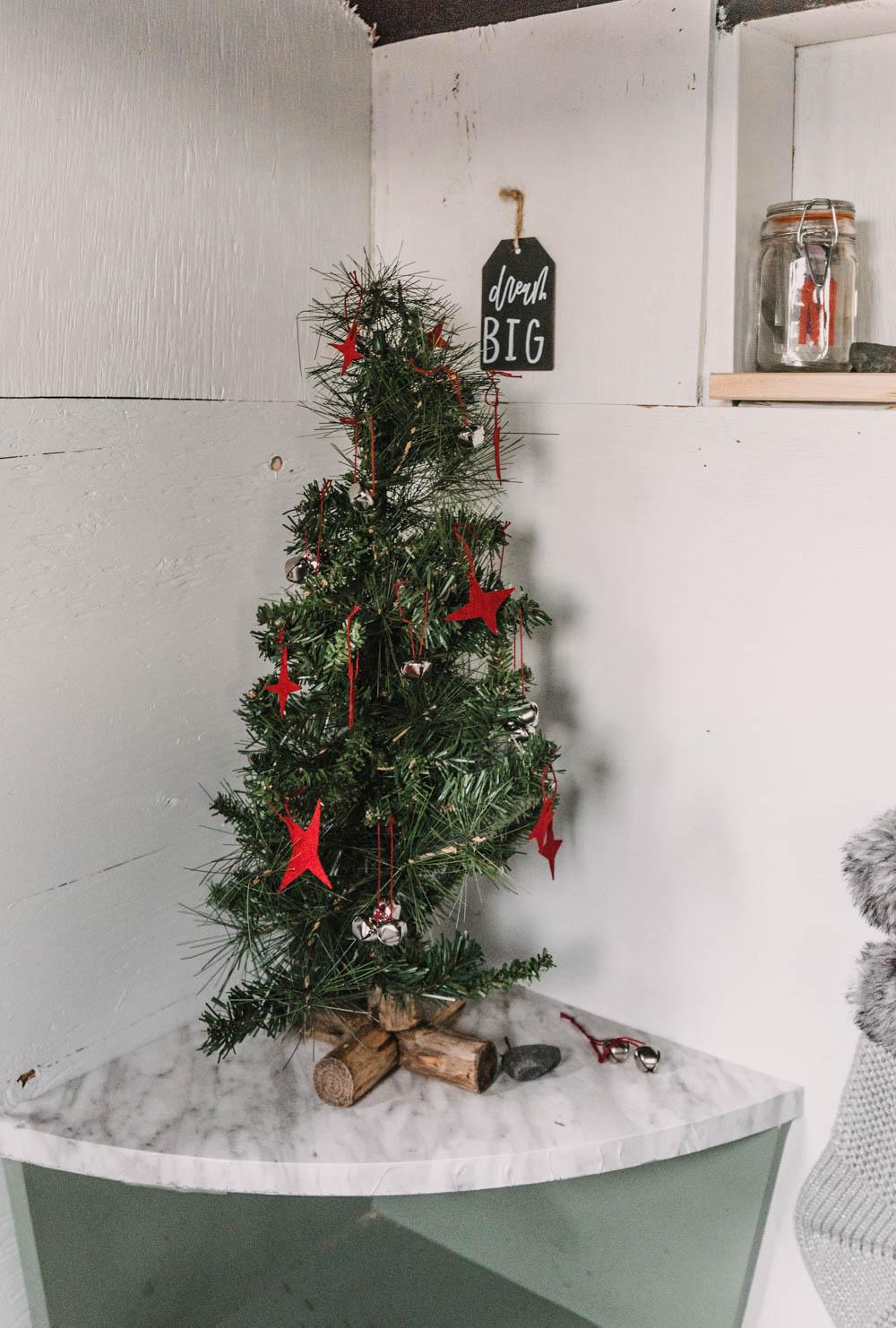 Tiny Christmas Tree for a playhouse