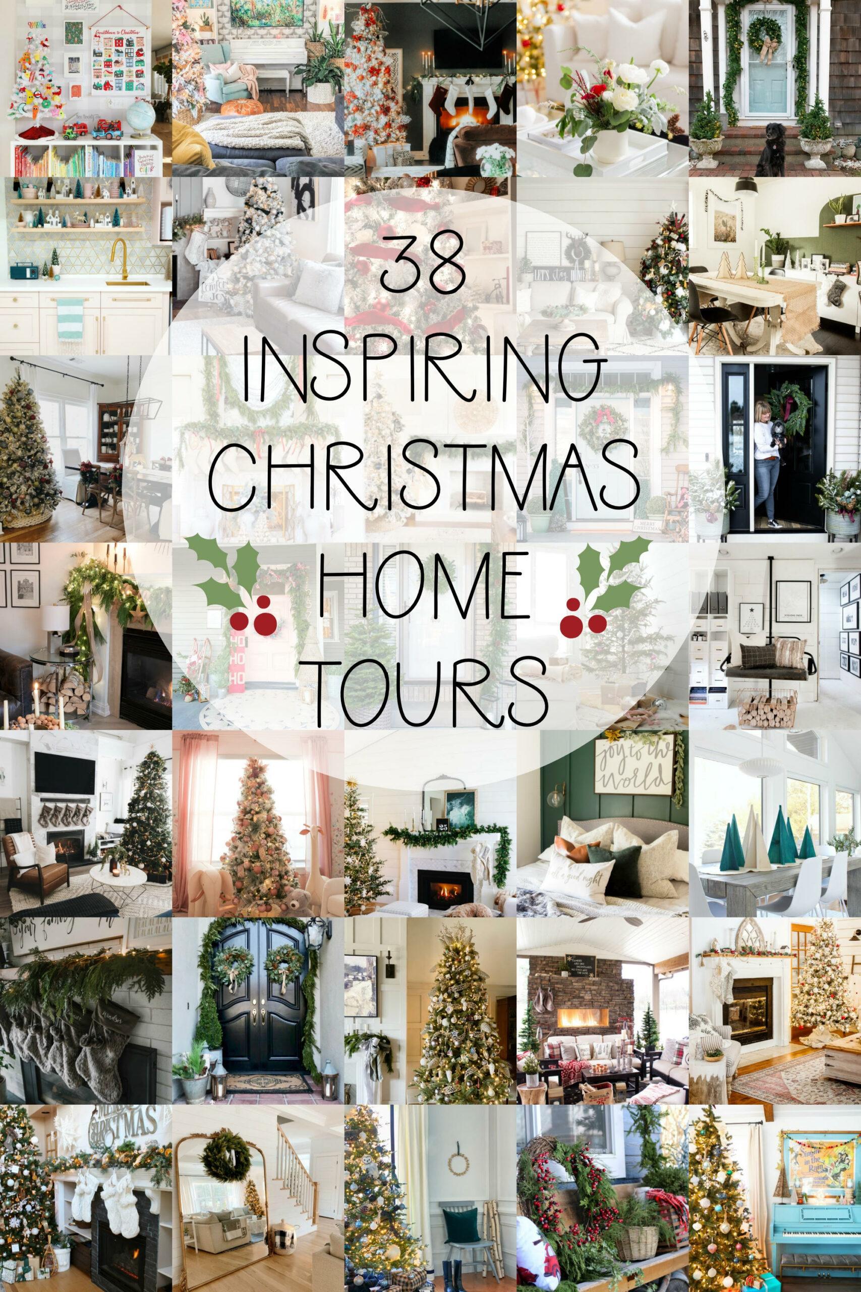 38 Christmas Home Tours