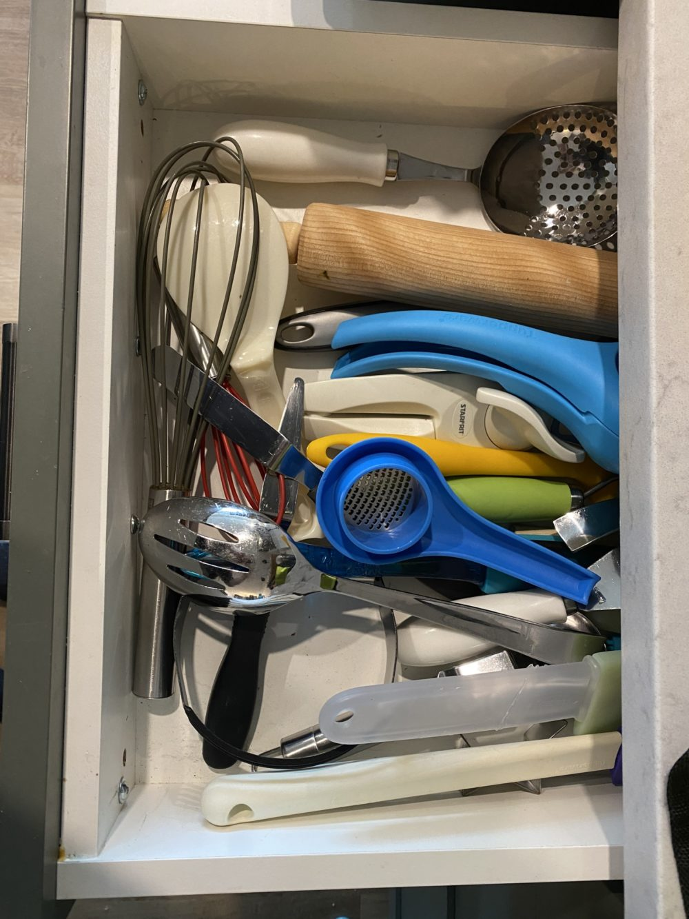 Drawer Organization BEFORE
