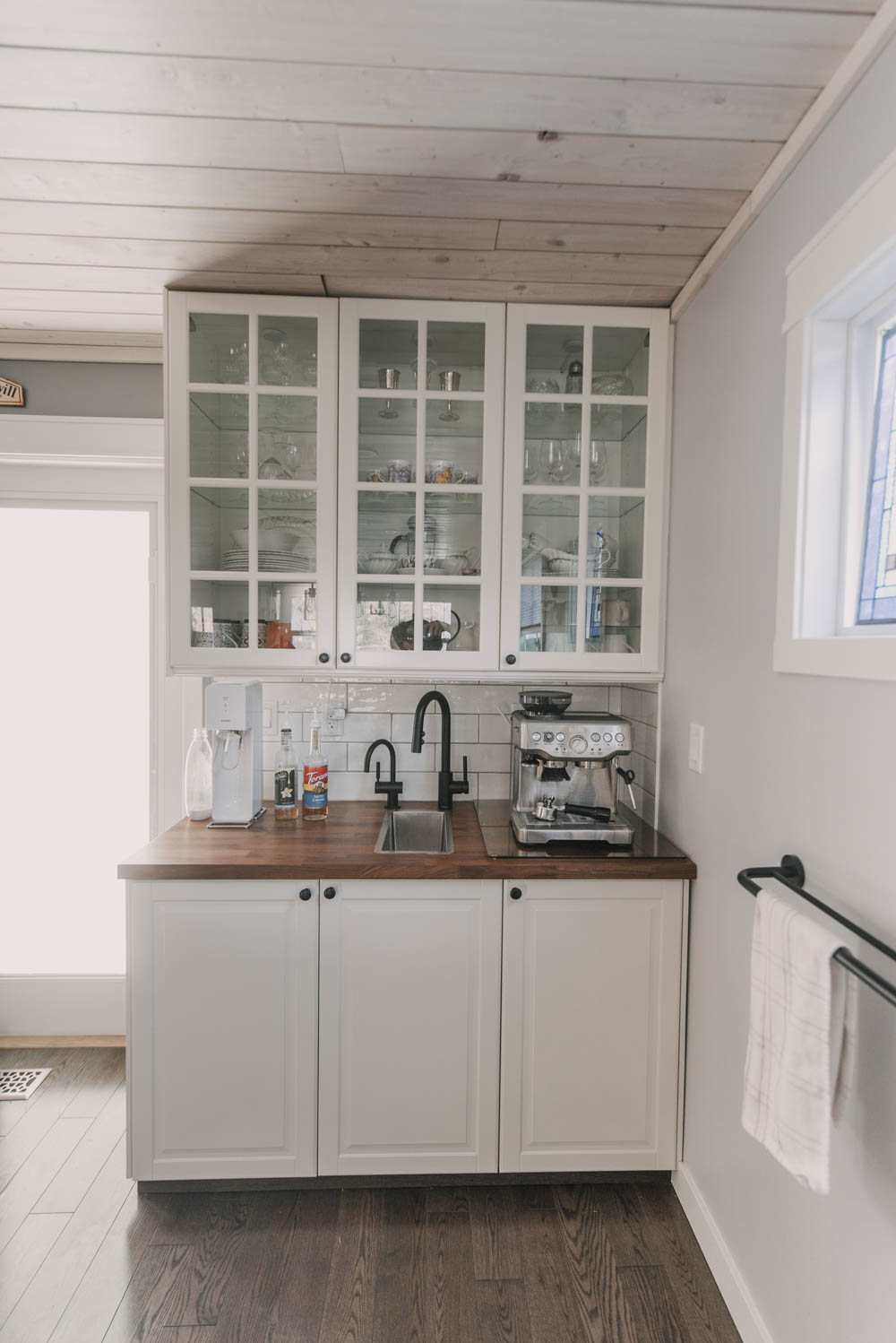 At home coffee station ideas