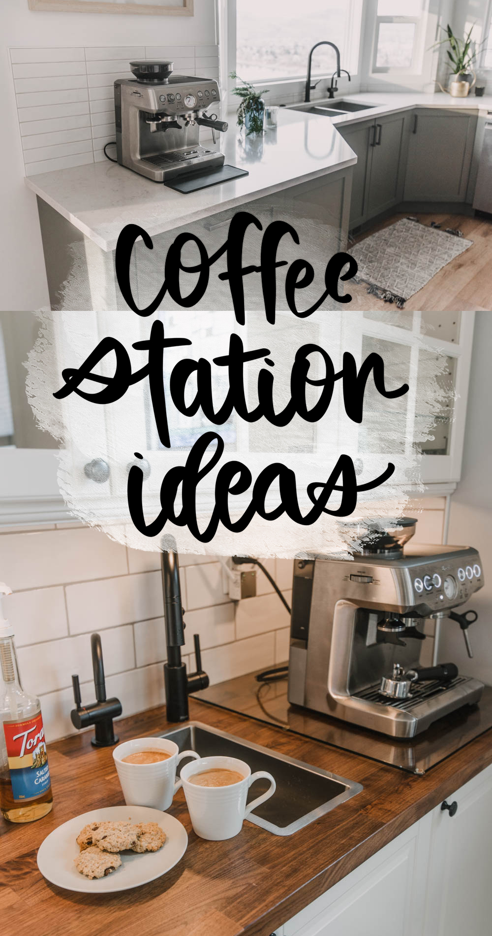 Sharing all the details about my home coffee bar and my dads