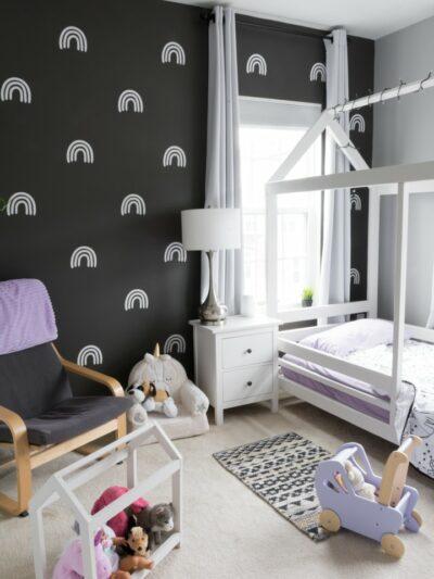 DIY Wallpaper Decals with Cricut